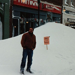 Beaufort Snow Fred 1989
